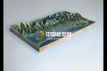 全数字化生产的山体沙盘模型高精准