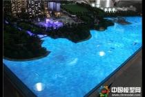 建筑模型水面制作仿真动感水