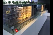 中铁四局杭州地铁6号线SG6-15标项目沙盘模型