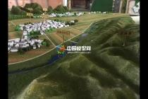蠡湖村规划沙盘模型