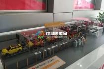 激光焊接生产线沙盘模型