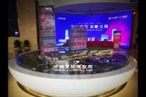 红豆财富广场建筑模型,售楼展示沙盘模型