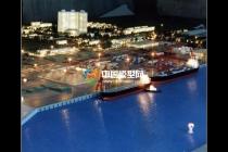 洋浦港沙盘模型