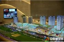 上海青浦万达茂展示沙盘模型