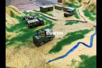 中国维和部队沙盘模型【致敬中国军人】