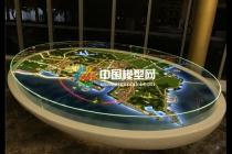 区域壁挂沙盘模型组图