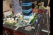 城市综合体建筑模型商业氛围营造手段