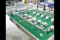 自动供料系统沙盘模型