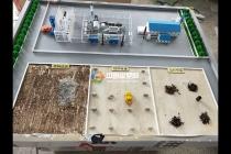 农业机械沙盘模型