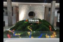 联合搜救场景模拟沙盘模型