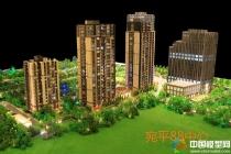 宛平88中心建筑模型