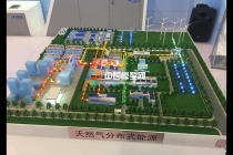 天然气分布式能源沙盘模型