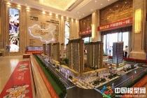 新城吾悦广场售楼部展示沙盘模型