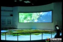晋江规划展厅弧幕联动数字沙盘模型
