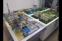 高盐废水处理沙盘模型