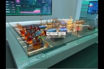 天然气处理工控安全演示沙盘模型
