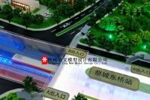 郑州市轨道交通12号线一期6工区沙盘模型