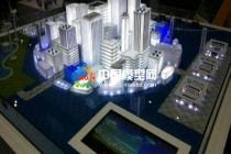 模型公司解析:售楼展示沙盘模型光电配置