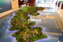 南丽湖旅游度假区规划沙盘模型