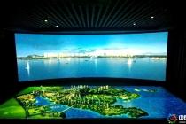 弧幕数字沙盘模型广泛应用于城市规划馆