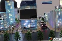 汽车无人驾驶技术演示沙盘模型