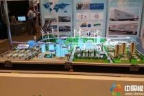 绿色储能生态圈沙盘模型