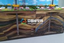 石油测井沙盘模型