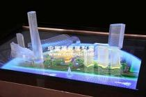 模型公司把概念水晶沙盘模型做的如此惊艳