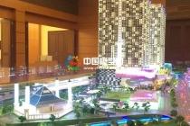 吉隆坡商业综合体沙盘模型