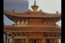 仿古建筑沙盘模型展示