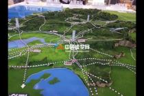 浙江省铁路总体规划模型