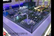 浙能技术研究院沙盘模型