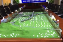 中交二公局深圳外环高速3标段沙盘模型
