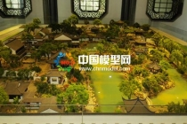 园林筑沙盘模型设计制作比现代模型更注重局部
