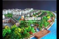 售楼处的楼盘模型河流景观的三种呈现方式