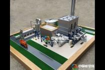 废气催化燃烧设备模型