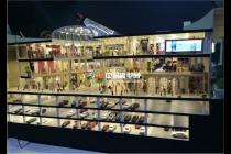 时代广场售楼部模型