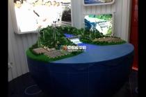 汉能移动能源沙盘模型