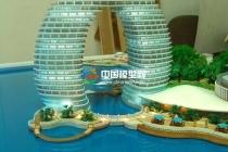 湖州喜来登温泉度假酒店沙盘模型