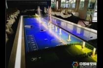 中铁龙穴南水道特大桥沙盘模型