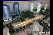 绍兴市城市轨道交通1号线沙盘模型