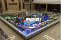 建筑模型是沙盘的一个部分,沙盘模型内容更广