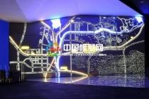 楼盘区域壁挂模型根据项目项目特色选材