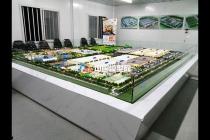 农业科技园沙盘模型