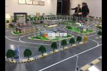 南京大学智能交通沙盘模型让出行更智慧