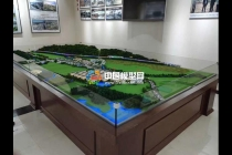 大慈岩镇乡村规划沙盘模型