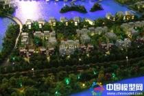 虹桥湖畔艺墅沙盘模型