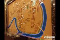 壁挂区域沙盘模型过眼云烟的精彩回放