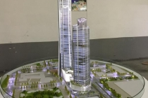 中国平安大厦建筑模型