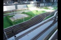 铁路综合运输控制教学沙盘模型